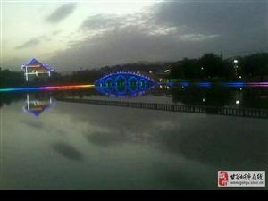 傍晚的大像山水上公园!美么??