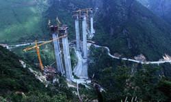 2013-6-26湘南第一高桥——建设中炎汝高速红星特大桥图片