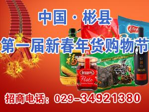 2014中国・彬县第一届新春年货购物节