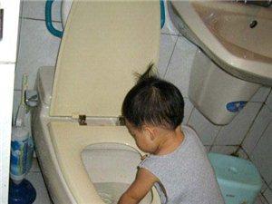 妈妈说上完厕所要洗手