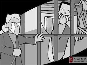 母爱无言―河南67岁老人徒步行走11天到武汉监狱探望儿子!