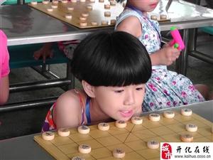 """[原创]2013年衢州市第二届""""金泰杯""""少儿象棋等级邀请赛比赛现场图二"""