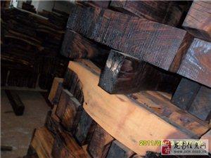 宏昌精品红木艺术中心材料处理图片