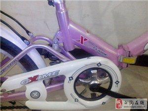 白沟金鑫美折叠自行车低价出售,带小孩座,不要可拆卸