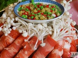 金�菇牛肉卷