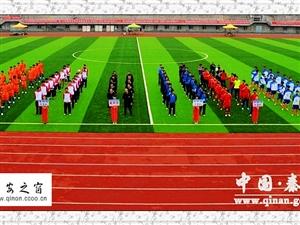 【为期3天】天水市第四届运动会青少年男子足球赛在秦安县开幕