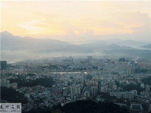 【爱龙川】烟雾飘渺的龙川县城!