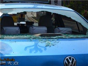 今天古蔺酒街有发生了一起车祸!