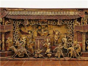 广东的金漆木雕