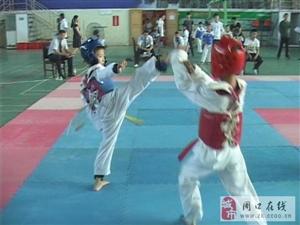 融辉集团赞助2013年黄冈市中小学生跆拳道比赛