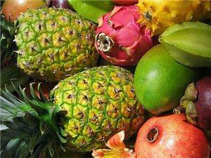 热带水果营养丰富