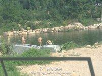 [注意]警察裸泳