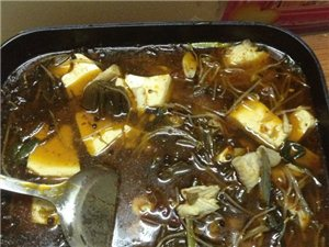 我煮的酸菜鱼 安逸掺了