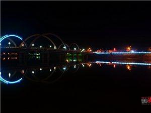 彩虹桥夜景