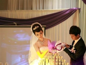 震惊世界的超级豪华婚礼,男人女人看完全都傻眼了!!!