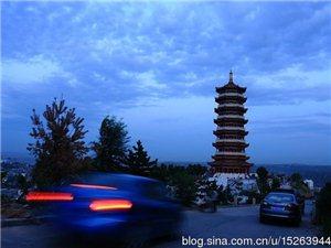 香露山夜景