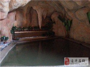 澳门金沙网址站嵖岈山温泉小镇的温泉洗浴区掠影