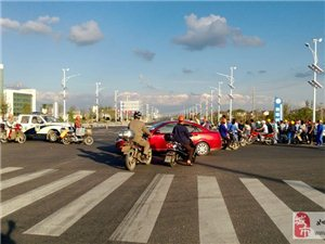 昨天在洋口经济开发区发生一次严重车祸