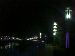 资溪一河两岸夜景
