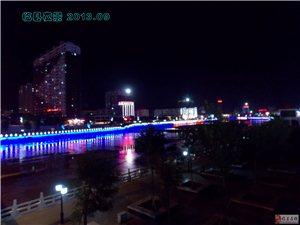 2013年临县城夜景