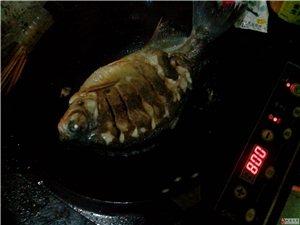 朋友煎的昌鱼,好吃!
