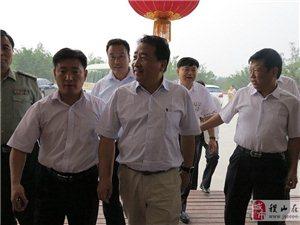 著名相声表演艺术家姜昆到稷山采风