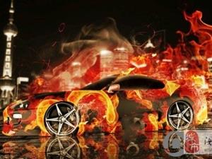 霸气,超酷超跑火焰艺术跑车