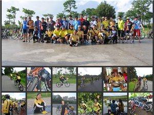 琼海在线溜溜自行车队骑行第四波定安坡寨休闲骑