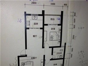 两居室新房 大家帮忙看看