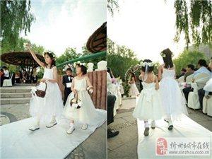 非常浪漫的婚礼现场