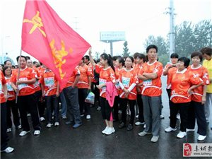 2013衡水湖国际马拉松赛上的阜城人(组图)