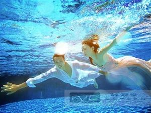 三亚婚纱摄影 三亚峰燚堂婚纱摄影中心 水下摄影