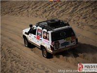 新疆越野汽車沙漠挑戰賽攝影