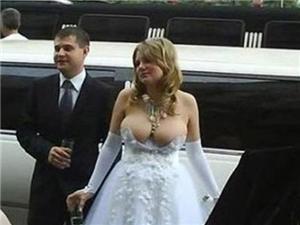 牛人婚礼上的逗乐瞬间