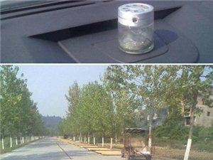 网友t的心声:公路变成了晒谷场,汽车很难通过