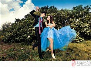 薇拉爱婚纱摄影,蓝色的梦