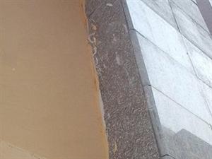 运河人家小区的外墙漆怎么刷成这样啊!