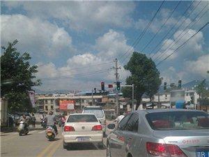 江东大道跟新罗大道交汇路口已启动红绿灯