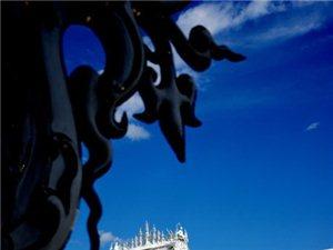 生死轮回黑白相映 世界上最纯洁的白庙(二)