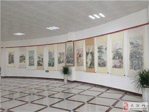 2013年10月26号,群星璀璨精品画展在双洪生态文化公园拉开帷幕