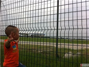 带着儿子去看飞机(王一繁看飞机)