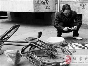 好人好事:澳门星际一市民义务修理自行车38年达上万车次