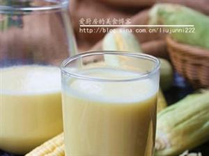 自制玉米汁――自己�邮重S衣足食