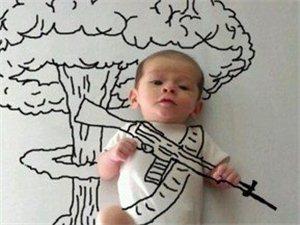 萌态尽显!小宝宝遇上艺术妈妈就拥有了大大的理想