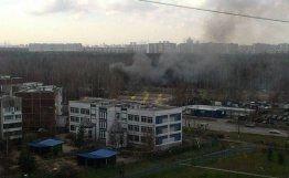 俄罗斯武装直升机坠毁