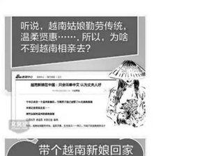 """网上""""团购""""越南新娘 是真是假?"""