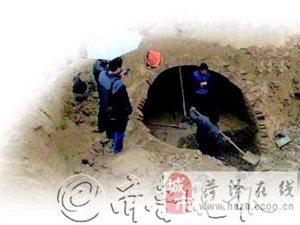 山�|巨野一工地挖出三件�S葬器物  �l�F元代�u砌墓