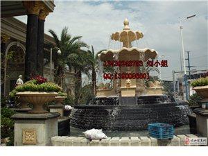 人造石流水盆/仿砂岩喷泉/欧式叠水舅/天使喷泉/天使雕塑喷泉