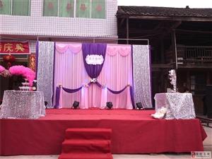 倾城新娘―11月龙塘婚礼布置现场