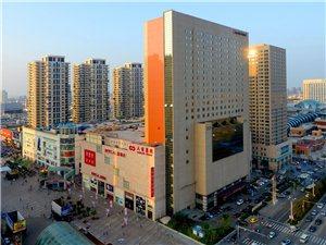 高处拍摄的大商中央商业街(转)